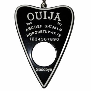 """New OUIJA Planchette Necklace 30"""" Chain"""